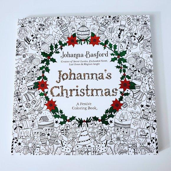 Johanna Basford Other - Johanna's Christmas: A Festive Coloring Book